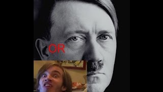 BE HITLER OR PEWDIEPIE??? -Will You Press The Button?