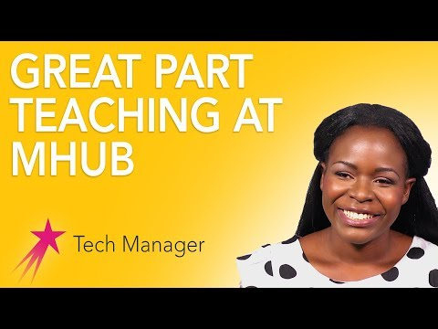 Tech Manager: Great Part - Elizabeth Kalitsiro Career Girls Role Model