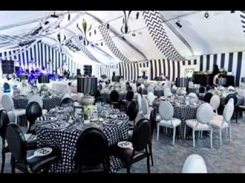Black And White Party Decor Ideas Youtube