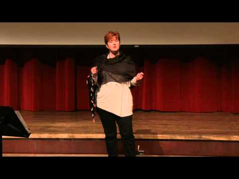 A vulnerable word: be the hope to end human trafficking   Elise Hilton   TEDxAlmaCollege