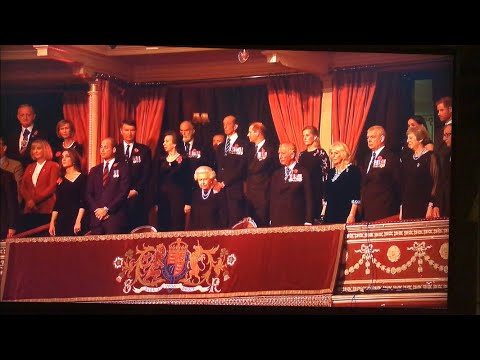 British Royal Family ALL MOMENTS - Festival Of Remembrance 2018