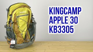 Розпакування KingCamp Apple 30 KB3305 Yellow