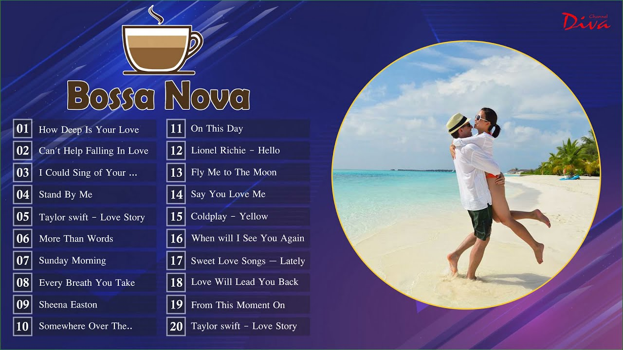 Bossa Nova Love Songs Playlist | Best Bossa Nova Cover Music 2020