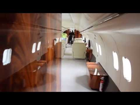 Private Md 87 Business Jet Interior N167as Youtube
