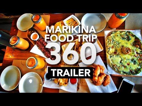 Marikina Food Trip 360 TRAILER! feat. Drei's, Milieu, Urban Street Food, & Fino Deli • Filipino Food