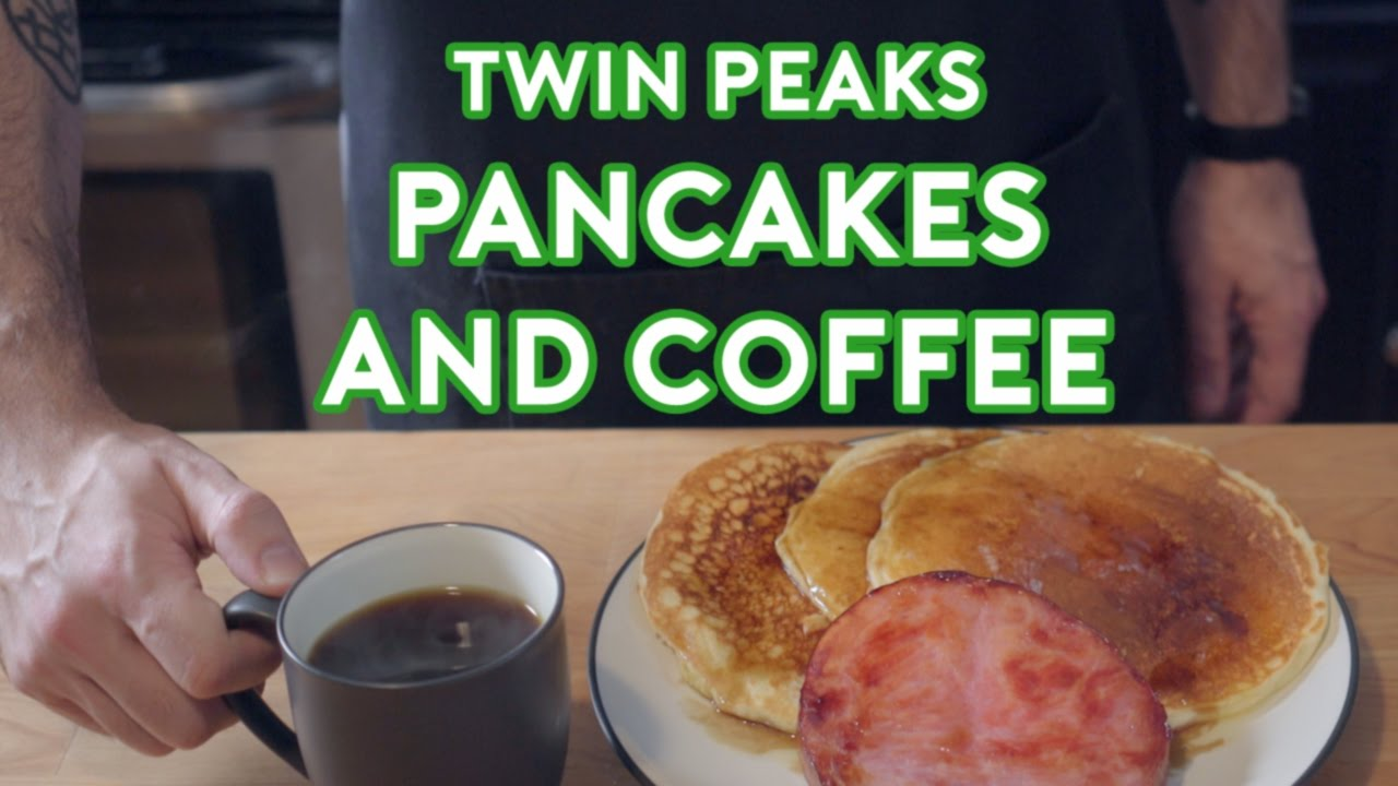 Binging With Babish Twin Peaks Pancakes Coffee Feat Cocktail Chemistry