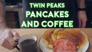 Binging with Babish: Twin Peaks Pancakes & Coffee (feat. Cocktail Chemistry)