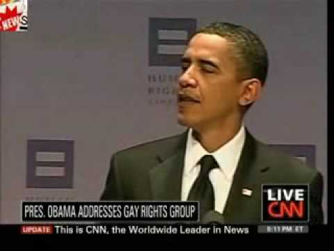 Human Rights Campaign: Obama Opens For Lady Gaga