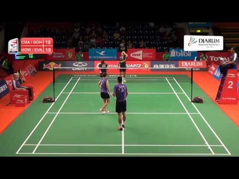 Howard Shu / Eva Lee (AMERICA) VS Chan Peng Soon / Goh Liu Ying (MALAYSIA)