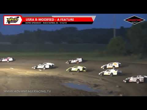 B-Modified Feature - Rapid Speedway - 7/12/19
