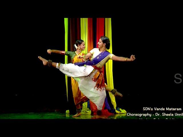 Vande Mataram - Unity in Diversity - Sridevi Nrithyalaya - Bharathanatyam Dance