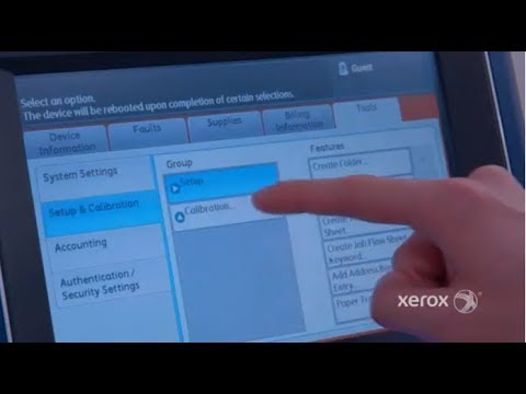 Xerox Color C60/C70 Printer: Calibrations for Printing and Scanning