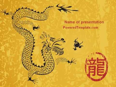 Chinese dragon powerpoint template by poweredtemplate youtube chinese dragon powerpoint template by poweredtemplate toneelgroepblik