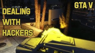 GTA V: How to deal with Hackers