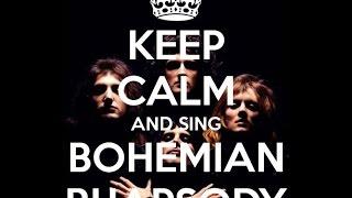 Queen Bohemian Rhapsody перевод с двойными субтитрами