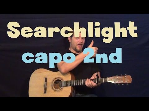 Searchlight Phillip Phillips Easy Guitar Lesson How To Play