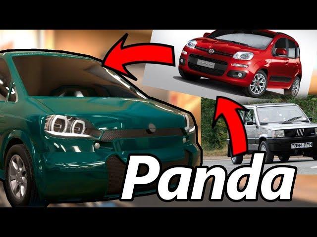 Costruisco la NUOVA FIAT PANDA - Automation BeamNG drive
