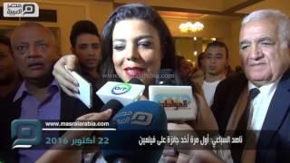 مصر العربية | ناهد السباعي: أول مرة أخد جائزة على فيلمين
