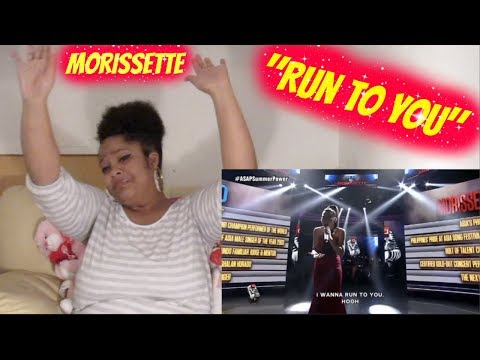 *DAY 1* Morissette-Run to you Reaction ASAP SlAAAAYYYEEEDDD