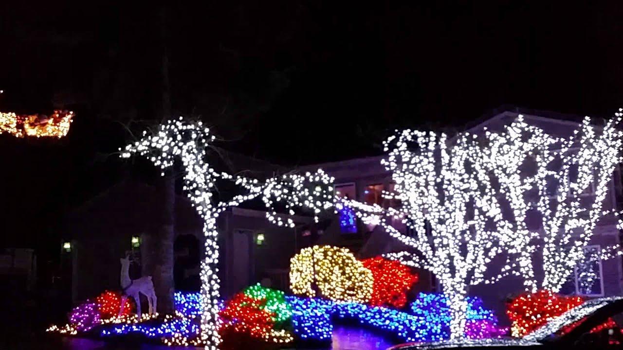 Seahawks Christmas Lights.Seattle Seahawks Christmas Light Show 2014