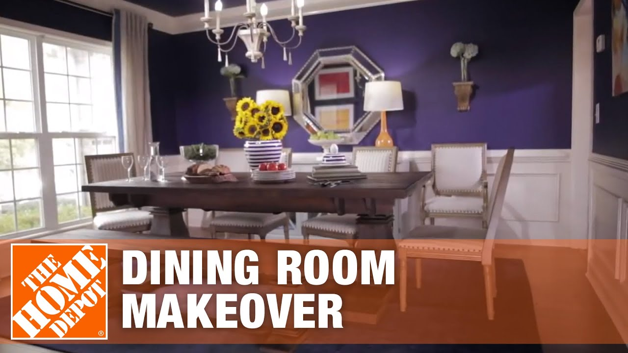 Start to Finishes: Dining Room Makeover - YouTube