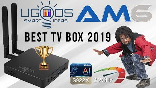 Ugoos AM6 TV Box FASTEST!!! 2019 2.2GHz NEW Features Overkill Crazy Performance # 1 Rankings Chart