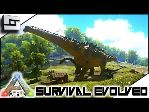ARK Survival Evolved - TITANOSAUR and REDWOOD BIOME!