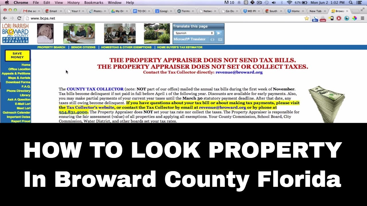 Official Records Search - Broward County, Florida