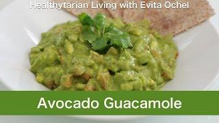 Guacamole Recipe - Nutrition Info, Tips & Demo