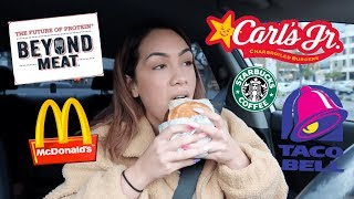 TRYING VEGAN FAST FOOD (for the first time)