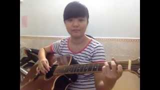 Lỗi định mệnh - Guitar cover - Khánh Vy