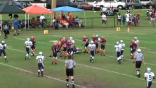 Youth Football Running Back #1 Marco Wilson highlights vs. Davie Broncos