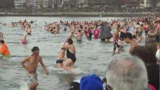 Polar Bear Swim 2013 (English Bay Beach, Vancouver)