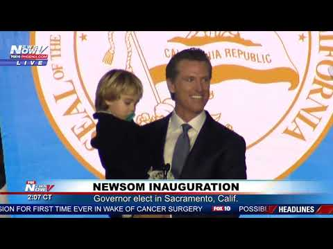 FULL INAUGURAL SPEECH: California Governor-Elect Gavin Newsom (FNN)