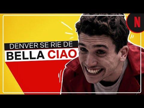 La Casa de Papel | Las risas de Denver al ritmo de Bella Ciao | Netflix