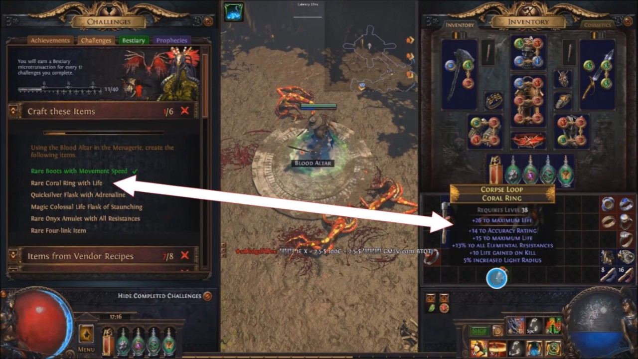 Path of Exile 3 2 Menagerie bug