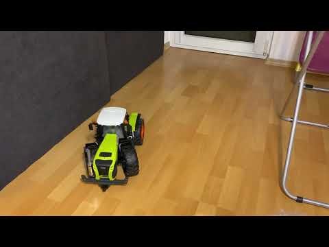 Bruder Claas Xerion 5000 RC conversion first run