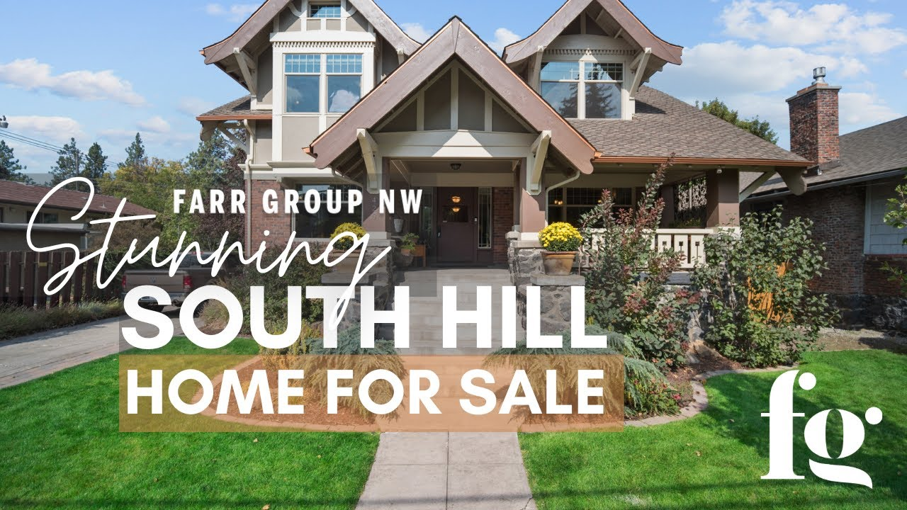 Spokane, WA Craftsman Home For Sale