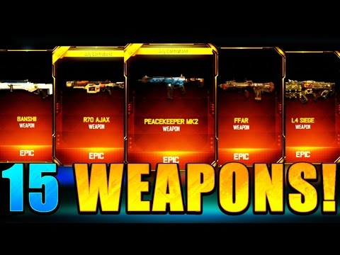 """CRAZY 15 NEW DLC SUPPLY DROP WEAPON OPENING! - Black Ops 3 """"NEW DLC WEAPONS"""""""