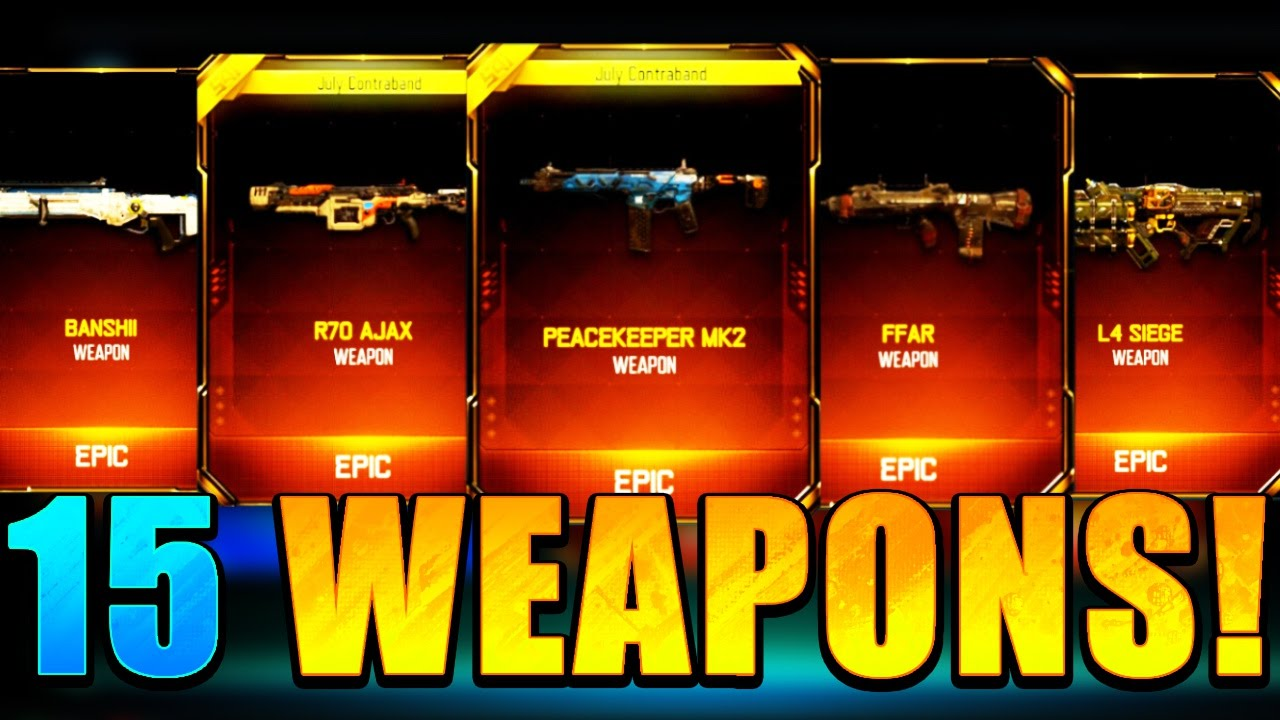 crazy 15 new dlc supply drop weapon opening black ops 3 new dlc