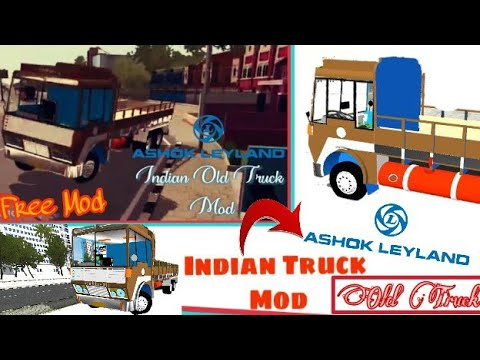 Bussid Indian Truck Mod