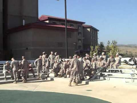 Camp Pendelton, CA 100 Pillows Presented to 1st Battalion, 5th Marines