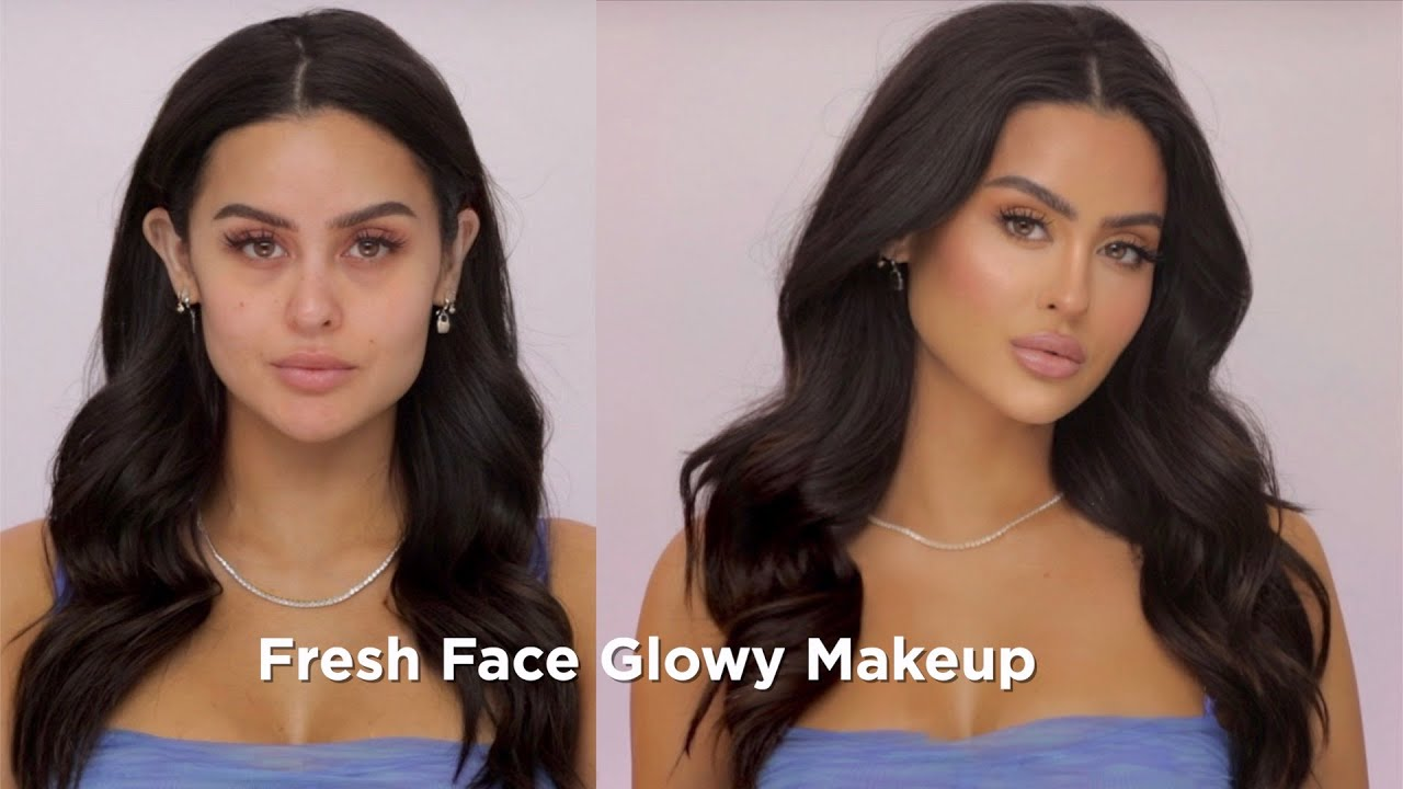 Fresh Faced Glowy Summer Makeup | New Cream Blushes Reveal!