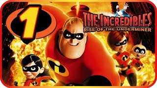 The Incredibles Rise of the Underminer Walkthrough Part 1 (PS2, Gamecube, XBOX, PC) Mission 1