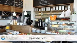 Cafe und Restaurant mit Meerblick Kieler Förde Gastronomie Schwedeneck bei Kiel StrandHaus