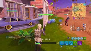 Fortnite : Battle Royale gameplay. Scorpion skin
