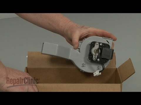 Fan Motor Assembly - Frigidaire Dishwasher