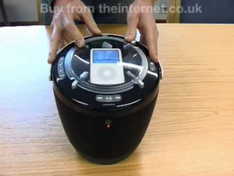 Grundig 'Boom Bucket' Portable Music for iPod