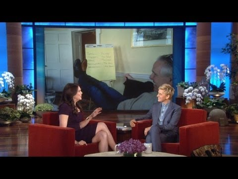 Lauren Graham's 1Cent Check from Ellen
