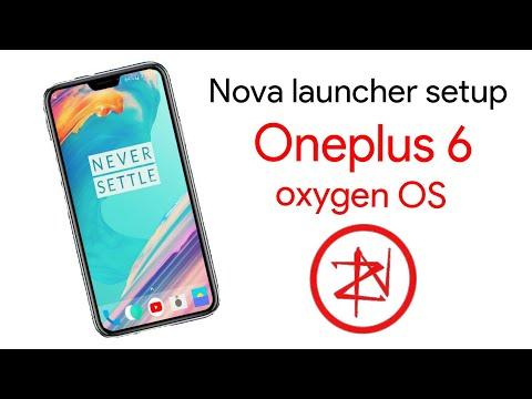 Oneplus 6 Nova launcher setup - YouTube